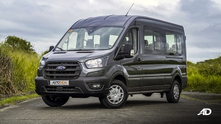 ford transit review road test front quarter exterior philippines