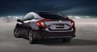 Honda All-New Civic 2018 taillights