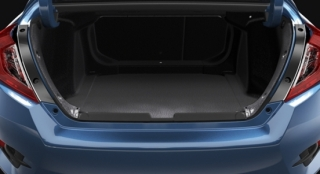 Honda All-New Civic 2018 trunk