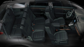 Honda CR-V 2018 cabin