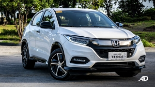 honda hr-v review road test front quarter exterior philippines
