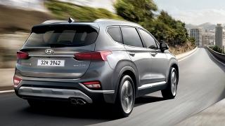 Hyundai Santa Fe 2019 rear