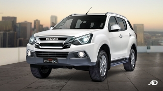 Isuzu mu-X 3.0 LS-A 4x4 AT Blue Power (Silky Pearl White)