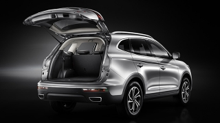 JAC S7 2018 trunk