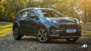 kia sportage review road test front quarter exterior