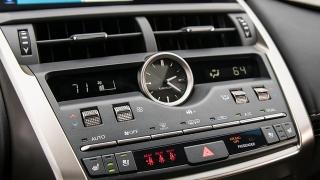 Lexus NX 2018 dashboard