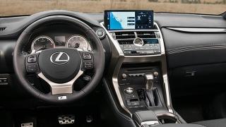 Lexus NX 2018 interior