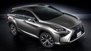 Lexus RX 2018 side