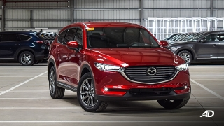 mazda cx-8 beauty shot exterior front quarter philippines