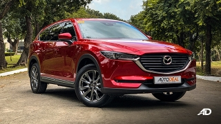 mazda cx-8 review road test front quarter exterior philippines
