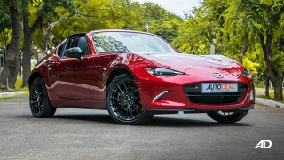 mazda mx-5 rf review road test front quarter exterior philippines