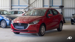 Mazda2 sedan launch philippines exterior front quarter