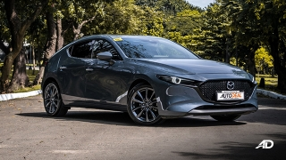 mazda3 sportback road test review polymetal gray front quarter exterior philippines