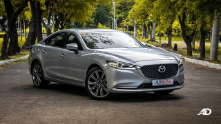 mazda6 sedan road test exterior front philippines