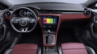 MG 6 2018 interior