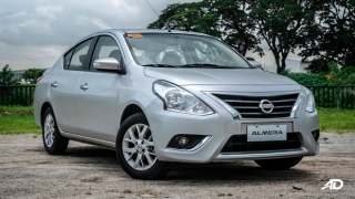 nissan almera road test review front quarter exterior philippines