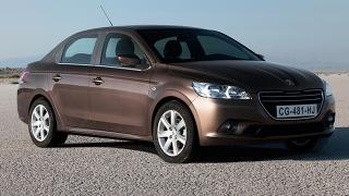 Peugeot 301 2018 front