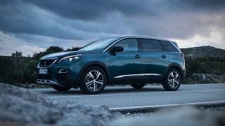 Peugeot 5008 2018 front