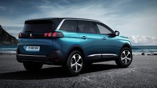 Peugeot 5008 2018 rear