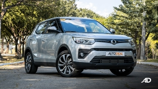 ssangyong tivoli diesel review road test front quarter exterior philippines