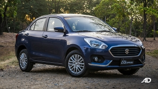 suzuki dzire review road test front quarter exterior philippines