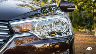suzuki ertiga road test exterior headlights
