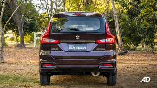suzuki ertiga road test exterior rear
