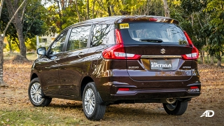 suzuki ertiga road test exterior rear quarter philippines