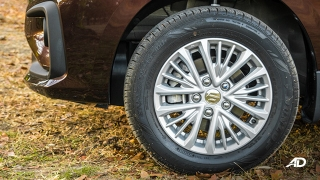 suzuki ertiga road test exterior wheels