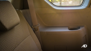 suzuki ertiga road test interior
