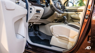 suzuki ertiga road test interior front cabin