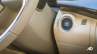 suzuki ertiga road test interior push start ignition