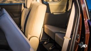 suzuki ertiga road test interior third row
