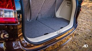 suzuki ertiga road test interior trunk philippines