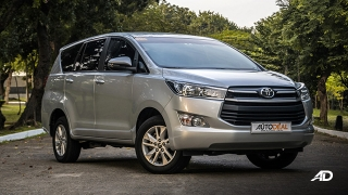 toyota innova road test review front quarter exterior philippines