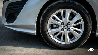 Toyota Vios 1.3 E Prime road test exterior wheels