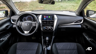 Toyota Vios 1.3 E Prime road test interior dashboard