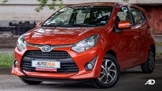 toyota wigo road test philippines front quarter exterior