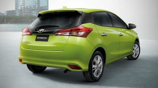 Toyota Yaris 2018 Philippines Rear