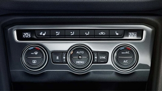 Volkswagen Lavida 2018 air-conditioning unit