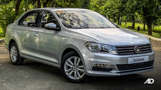 volkswagen santana road test front philippines