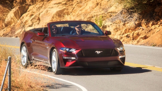 2018 Ford Mustang 5.0L GT Premium Convertible