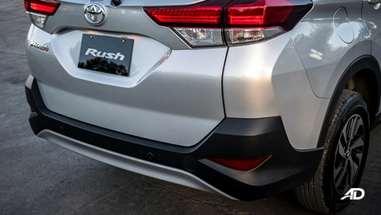 2018 toyota rush road test exterior