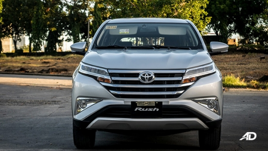 2018 toyota rush road test exterior philippines