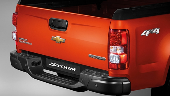 2019 Chevrolet Colorado High Storm rear bumper