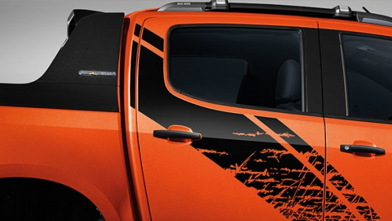 2019 Chevrolet Colorado High Storm side decal