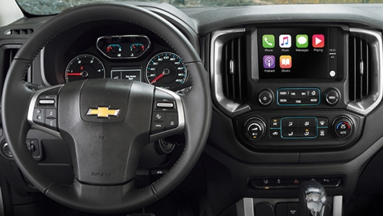 2019 Chevrolet Colorado High Storm steering wheel