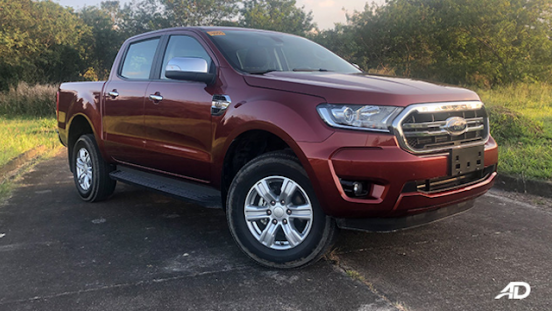 2019 Ford Ranger XLT color red front right