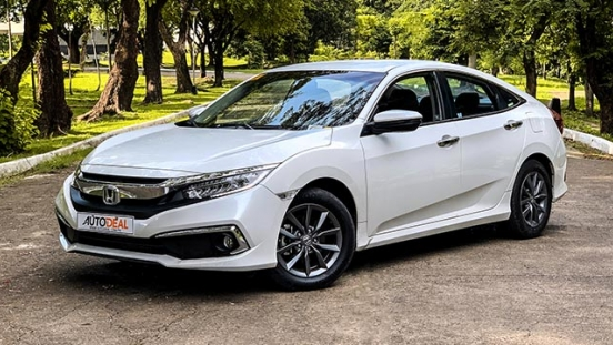 2019 Honda Civic 1.8 S exterior quarter