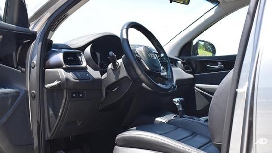 2019 Kia Sorento drivers seat
